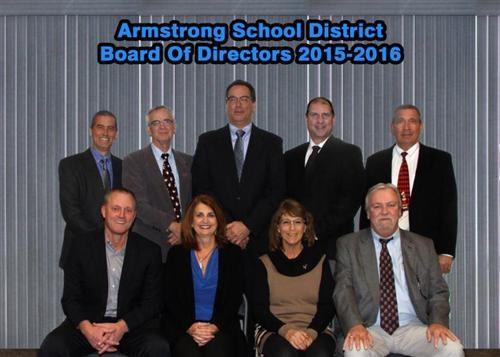 2016-2017 Armstrong School District Board of School Directors