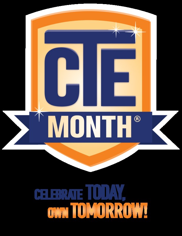 CTE Month Poster