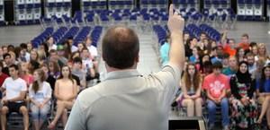 CMS 2013 graduation rehearsal