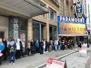 In line for Hamilton