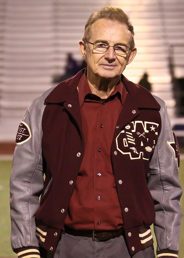 James Parkhurst is  wearing number 44 for the Roughnecks.  He was a standout player, along with fellow Hall of Honor members Dennis Gaubatz, Kenneth Boone and Eugene Maroul, on the Roughnecks' 1957 football team that advanced to the state semifinals before being eliminated by Brady High School.