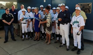 Siegel Middle Dedicates New Baseball Facilities Thumbnail Image