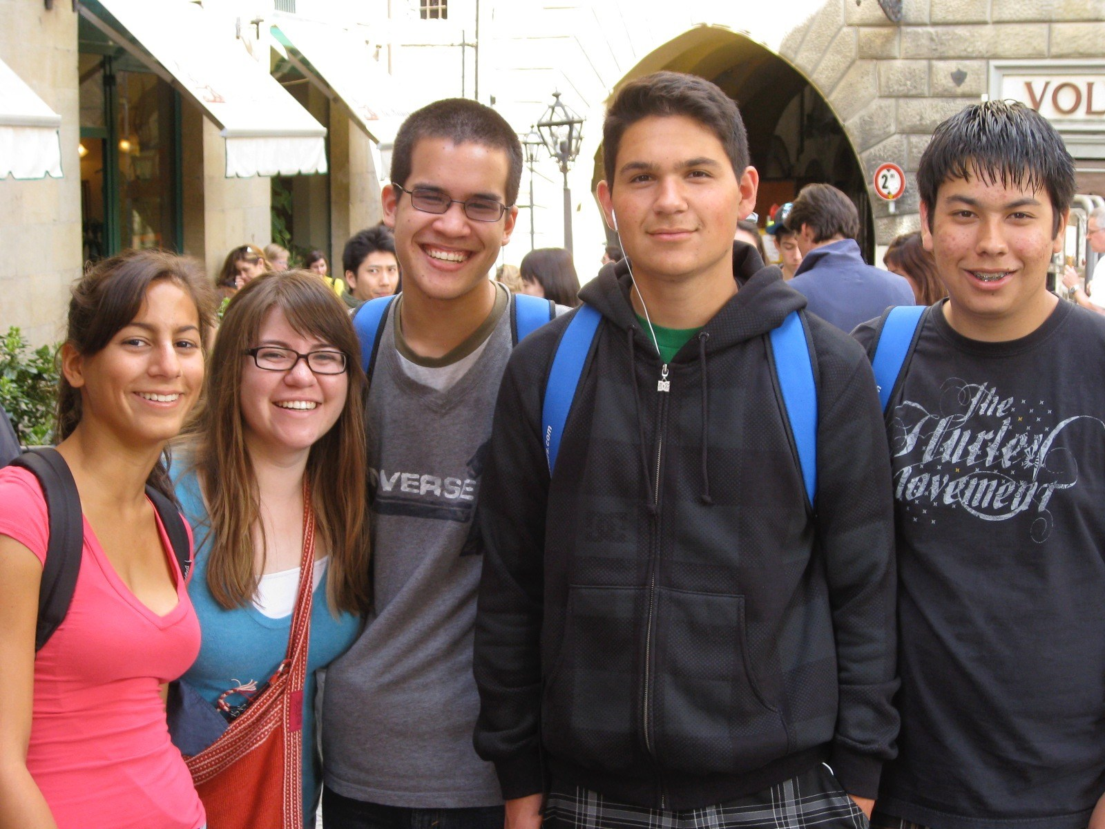 Great Books students in Florence Italy