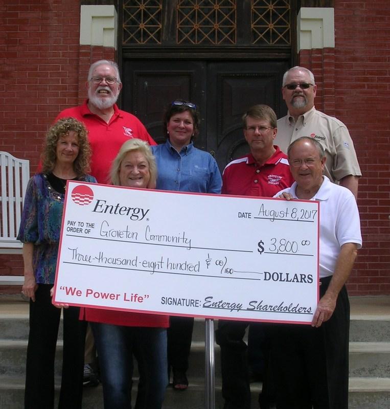 Groveton Elementary School Awarded Entergy Micro Grant Thumbnail Image