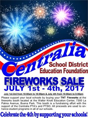 2017 Fireworks Sale