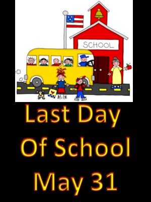 last day may 31