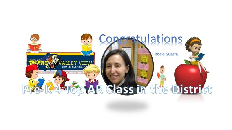 Congratulations to Rocio Guerra's Pre-K 4 Class Thumbnail Image