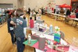 Science projects on display from Manor ISD's first Inovation Fair in December.