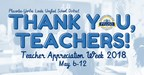 Thank you teachers graphic.