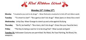 Red Ribbon week info