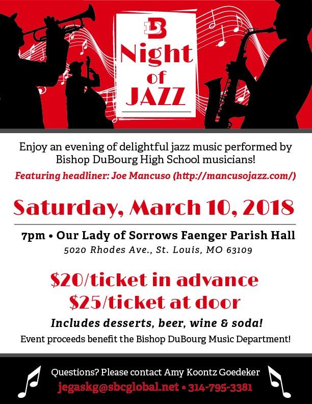 night of jazz flyer