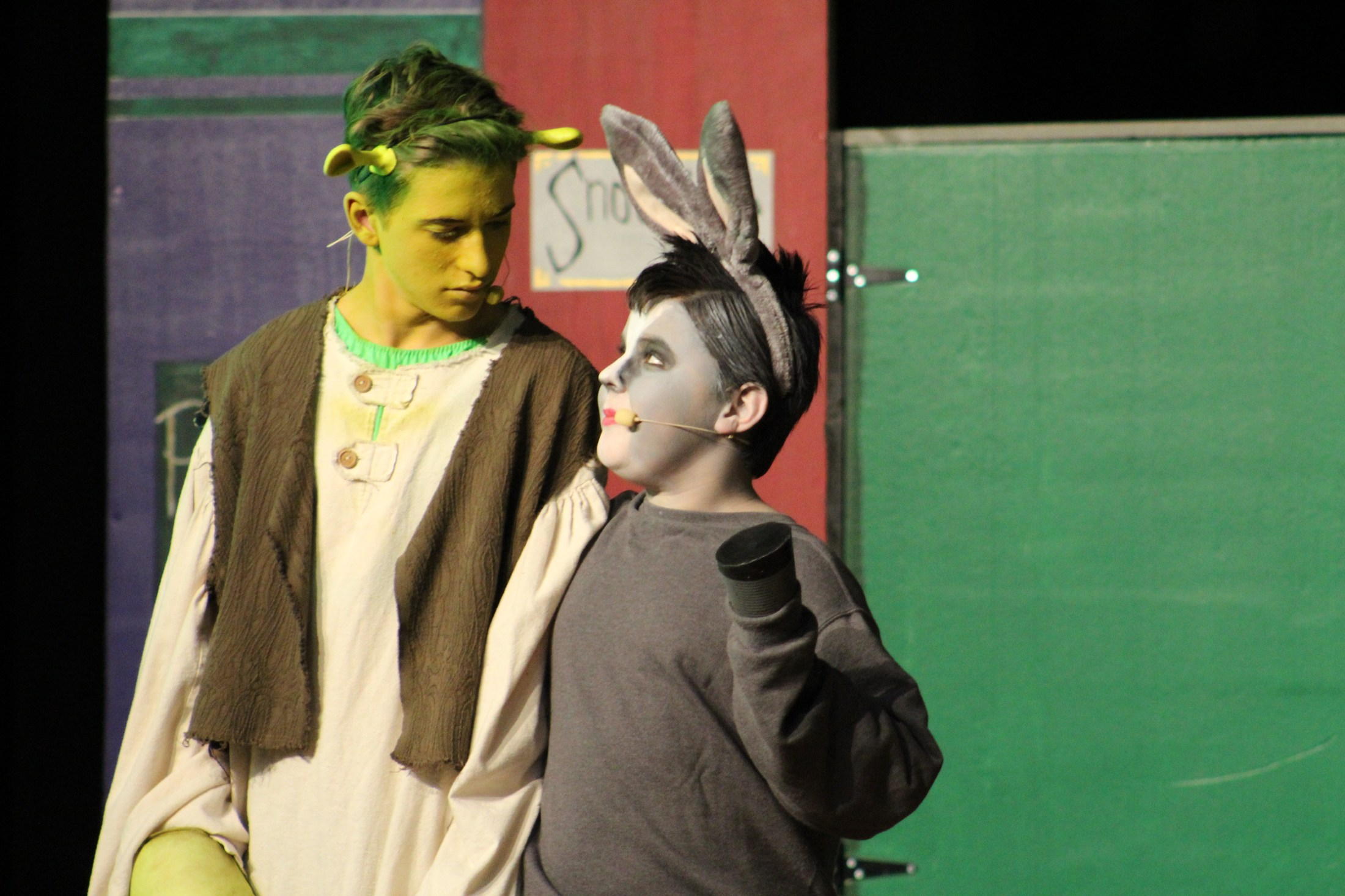 Students in Shrek The Musical