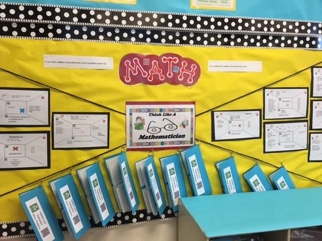 2nd graders Think like a Mathematician.