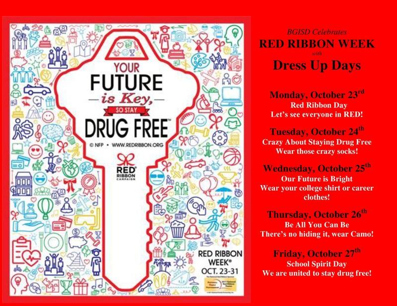 BGISD Celebrates Red Ribbon Week Thumbnail Image