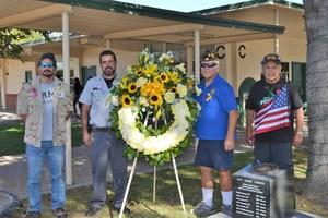vets ceremony