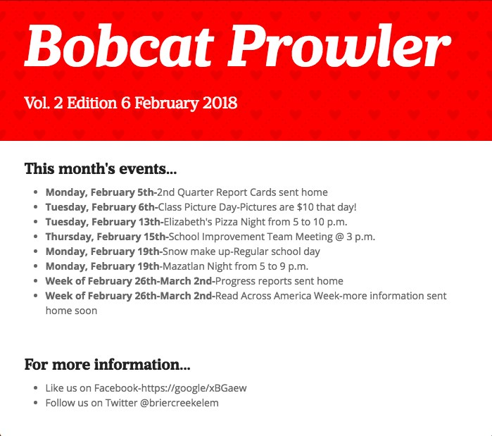 February Bobcat Prowler