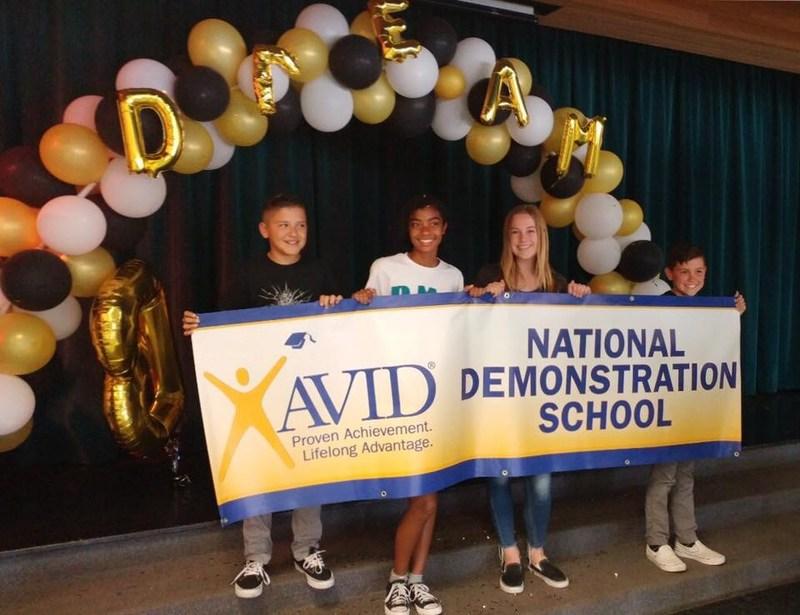Dartmouth is an AVID National Demonstration School