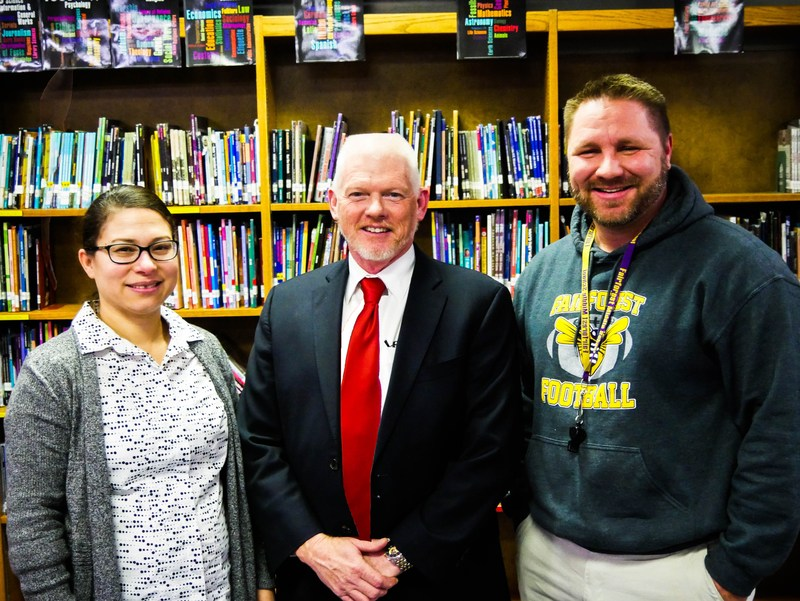 Teacher and Support Staff of the Year Announced Featured Photo