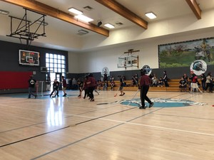 Super Kids Floor Hockey Tournament Hosted by Dartmouth Middle School