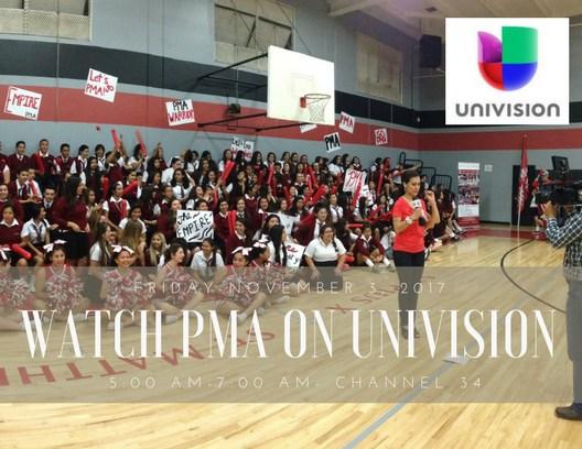 PMA on Univision Morning Show Thumbnail Image