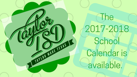 TISD calendar is available.