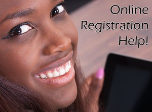 Online registration help is a phone call away (951) 253-7012