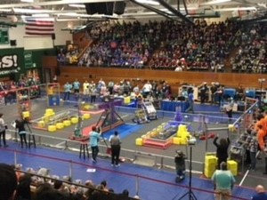 WVHS Robotics Team at Mt Vernon competition