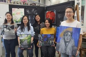 RHS Art Students