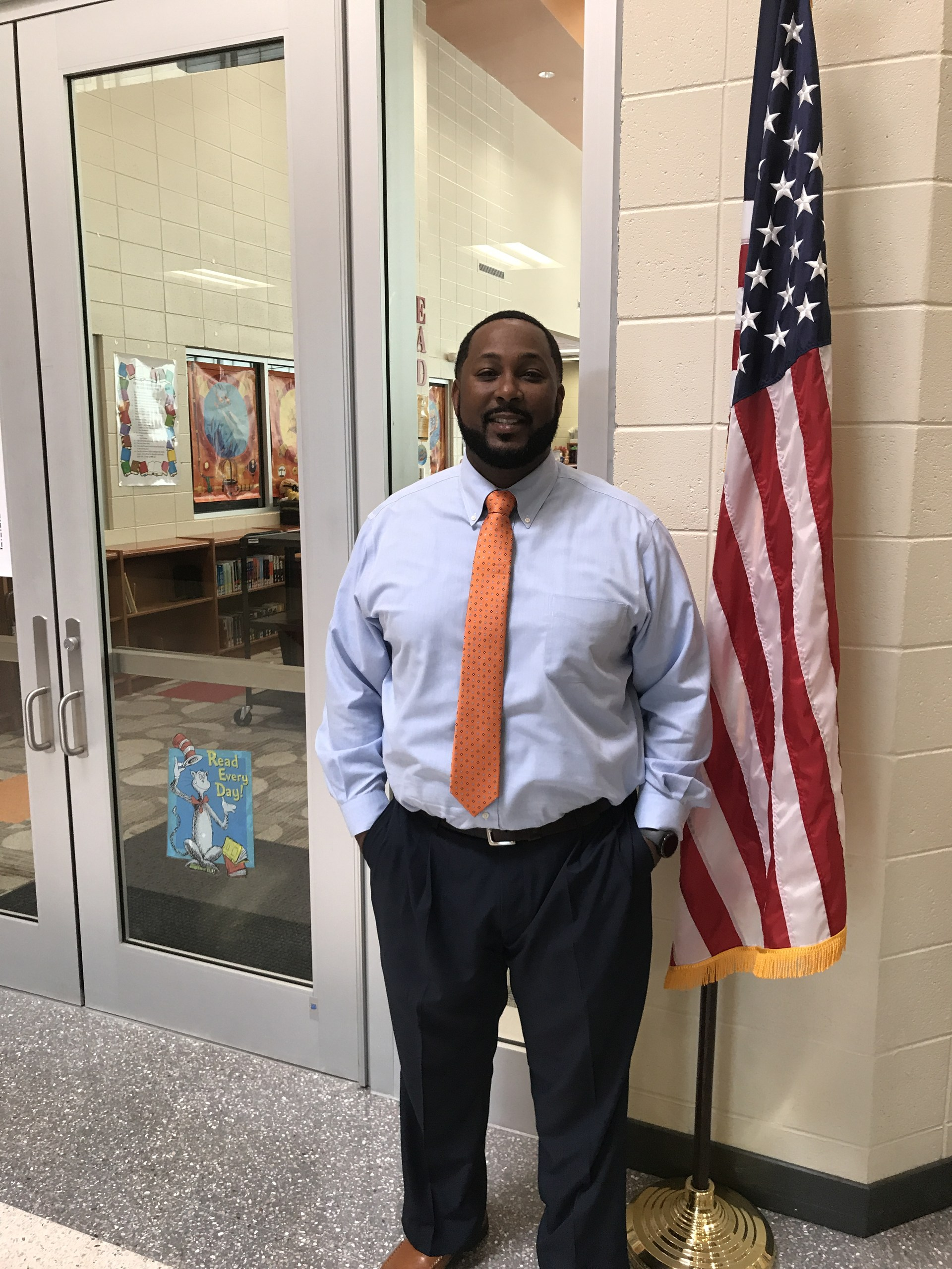 Mr. Royce Thomas, Principal