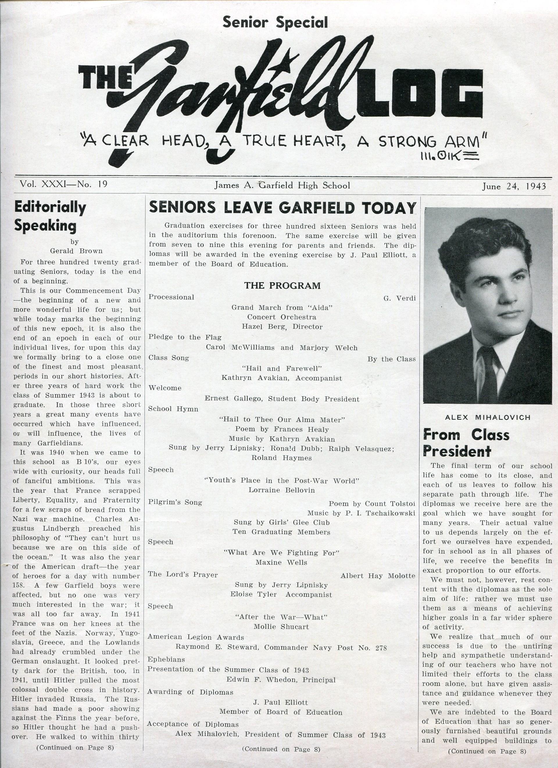 Log 1943