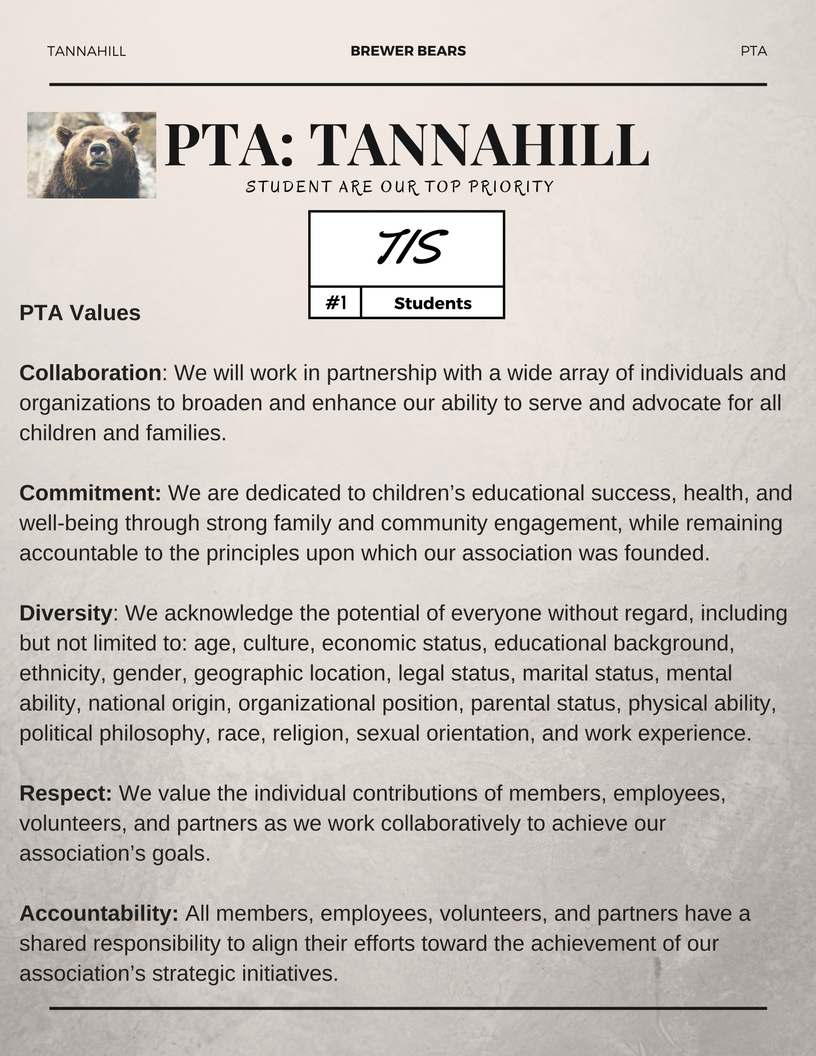 PTA Informational Graphic