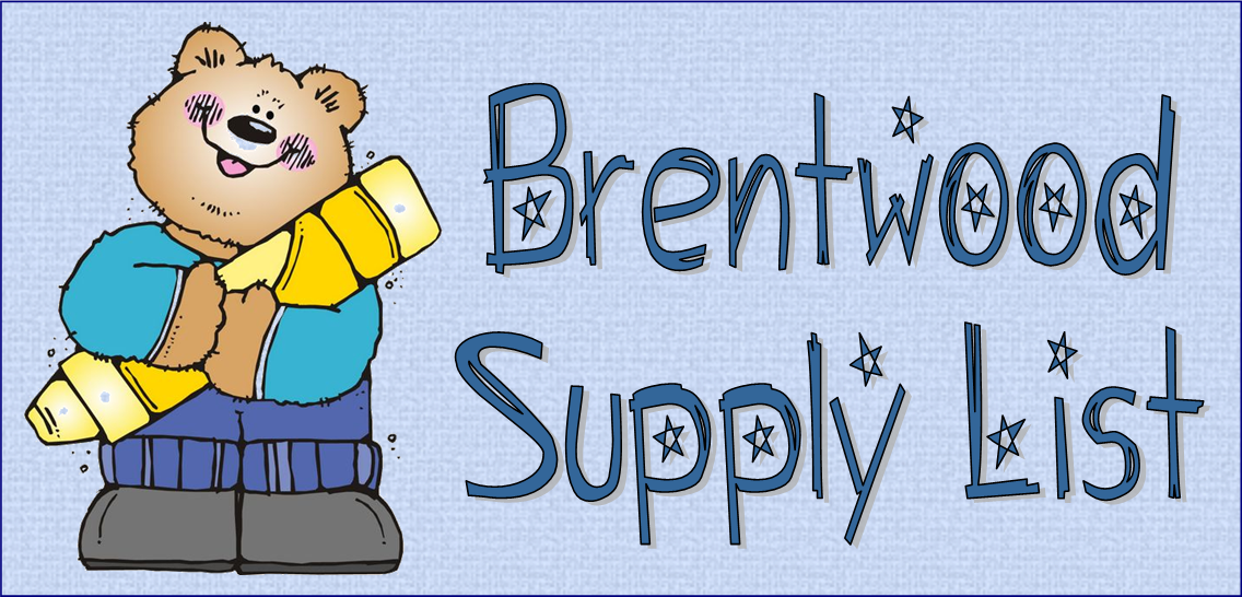 Brentwood Supply List Logo