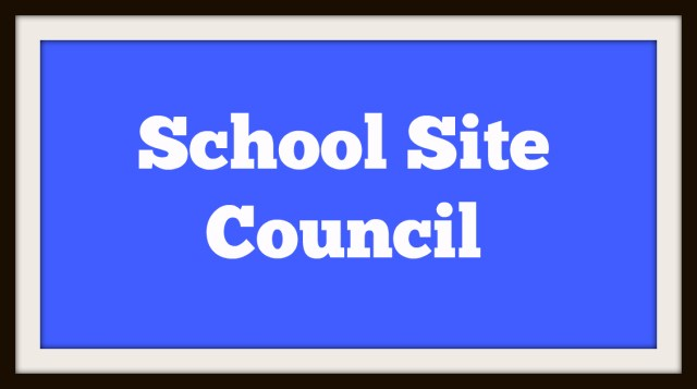 School Site Council Meetings Thumbnail Image