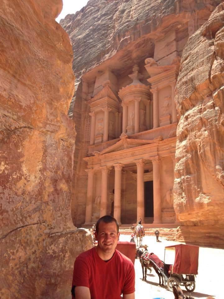 Trip to Petra in Jordan, 2016