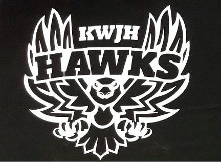 K.White HAWKS Decals on sale! See flyer for details.. Featured Photo