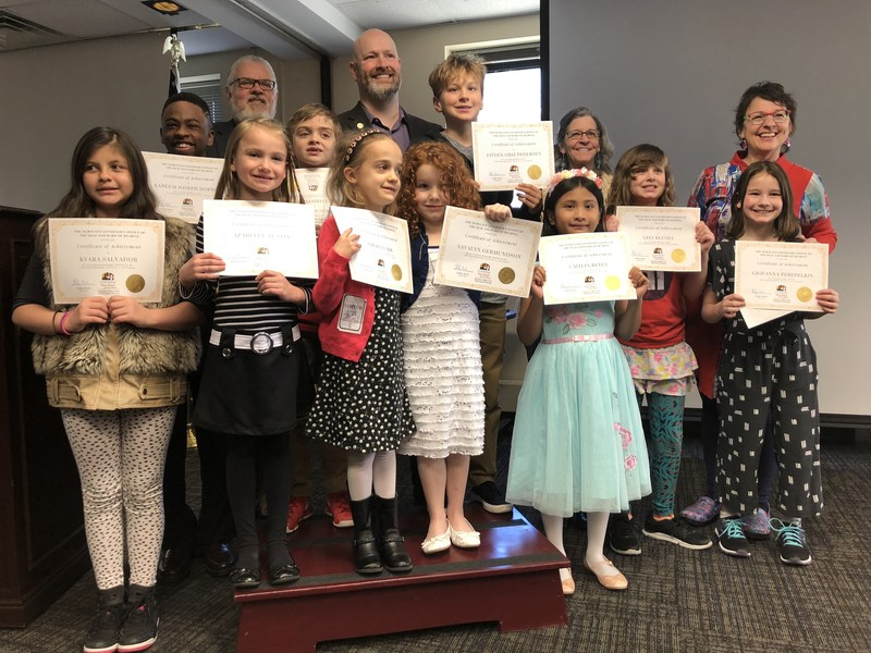 MSD Students Winners of K-12 Art Contest Featured Photo