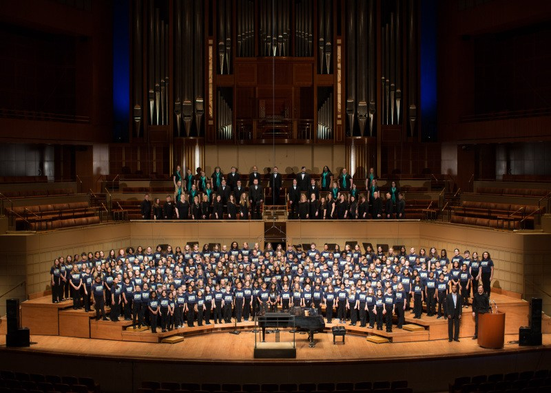 Dodd and Middle School Students Sing at the Meyerson Symphony Center Thumbnail Image