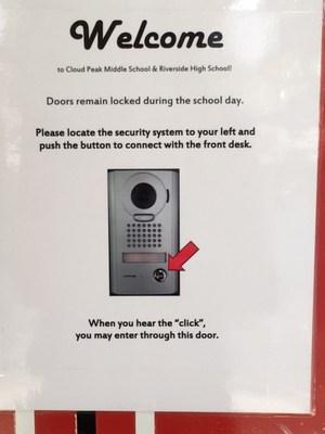 Front door information