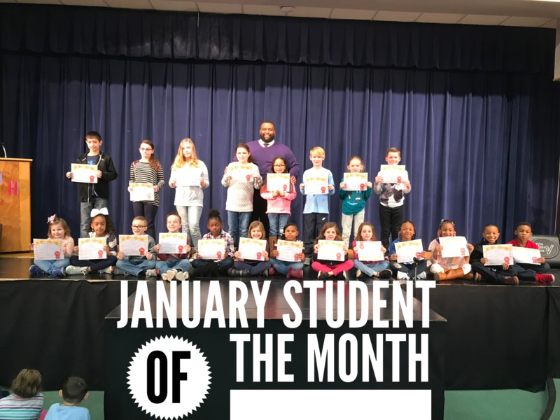 January Students of the Month: School Spirit Featured Photo