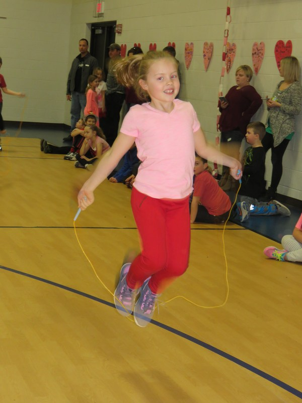 Lee Elementary students jumped rope all day Tuesday in the annual Jump Rope for Heart event raising money for the American Heart Association.