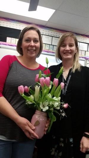 Sarah Bailey and Principal