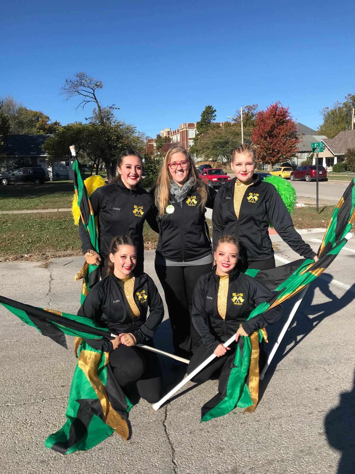 Color Guard Team Pic