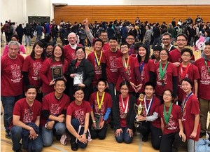 Science Olympiad team and coaches