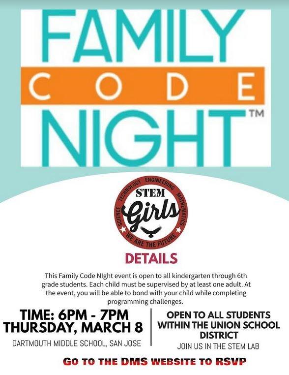 Family Code Night Thumbnail Image