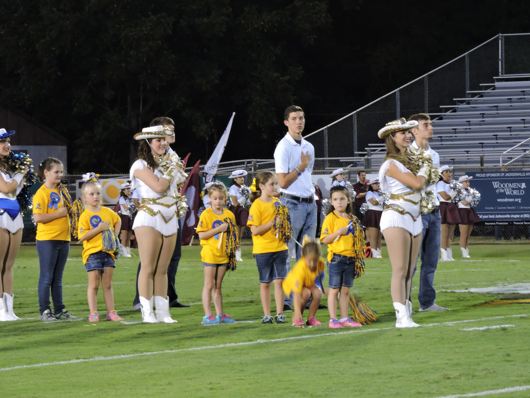 Charmers with little charmers on the field