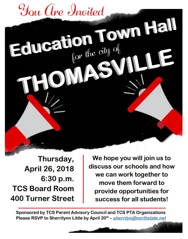 Education Town Hall Flyer