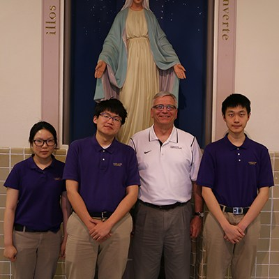 Catholic High Wins Regional Math Competition Thumbnail Image