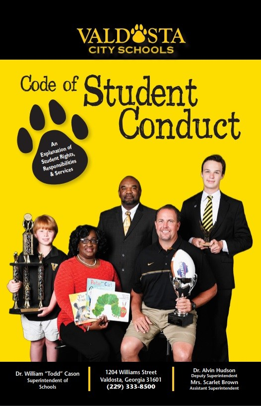 Code of Student Conduct 17-18 Cover
