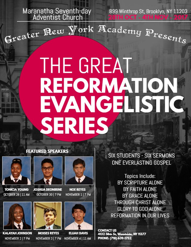 Greater Reformation Evangelistic Series Thumbnail Image