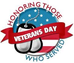 Veterans day graphic.